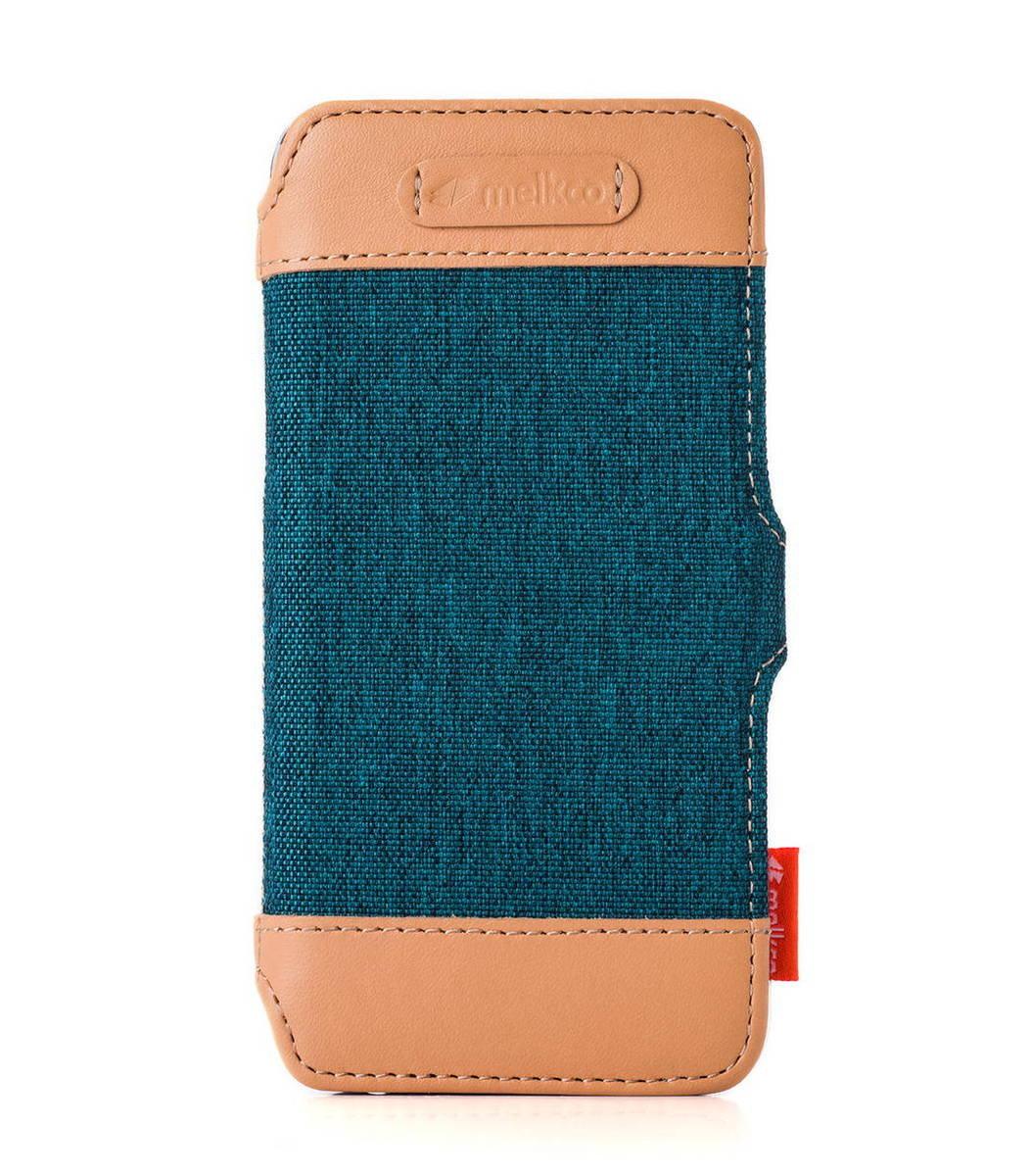 "Apple Iphone 6/6s (4.7"") Booka style Cru系列高級時尚真皮手機套(藍色)"