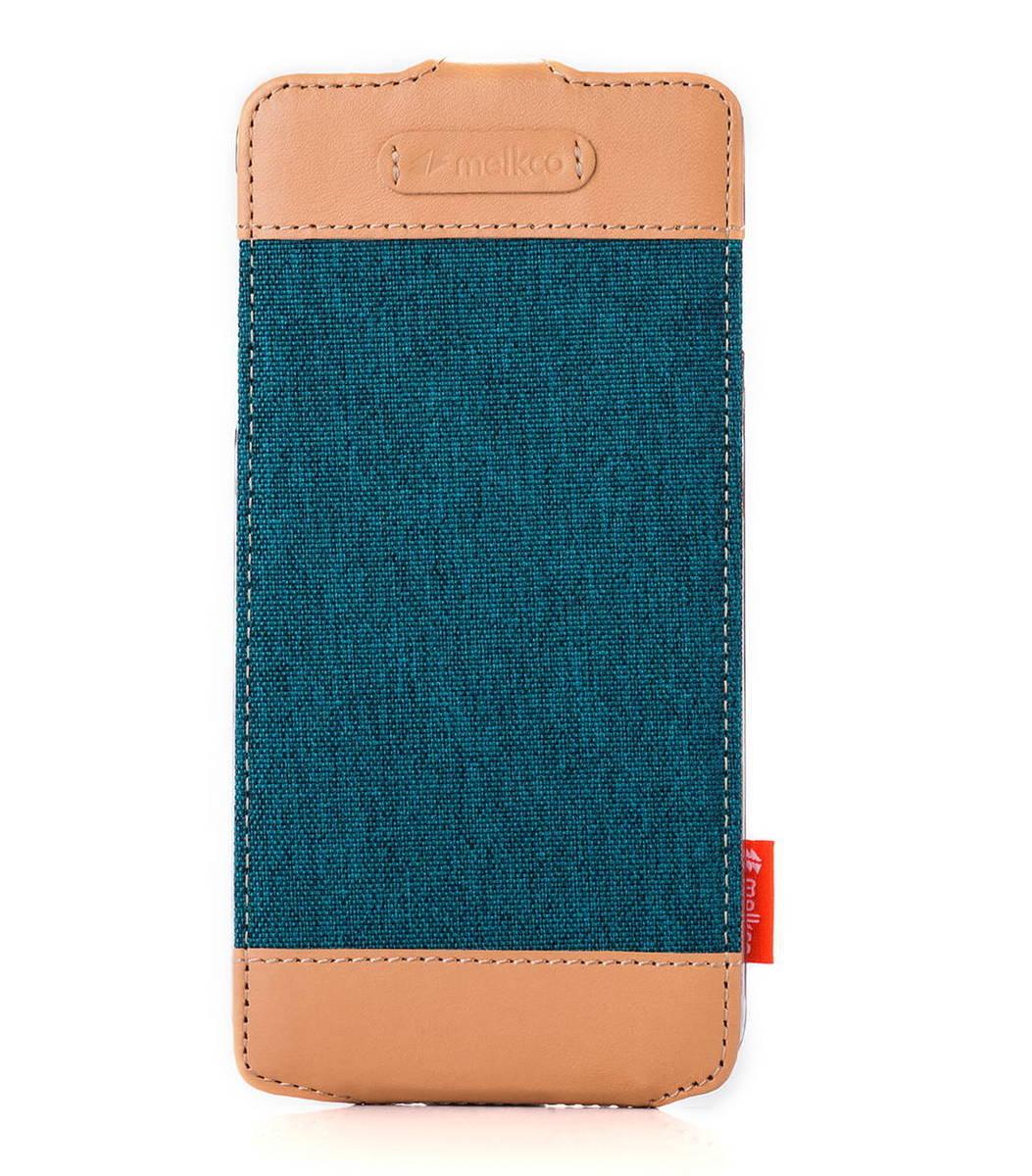 "Apple Iphone 6 Plus/6s Plus (5.5"") Jacka Type Cru系列高級時尚真皮手機套(藍色)"