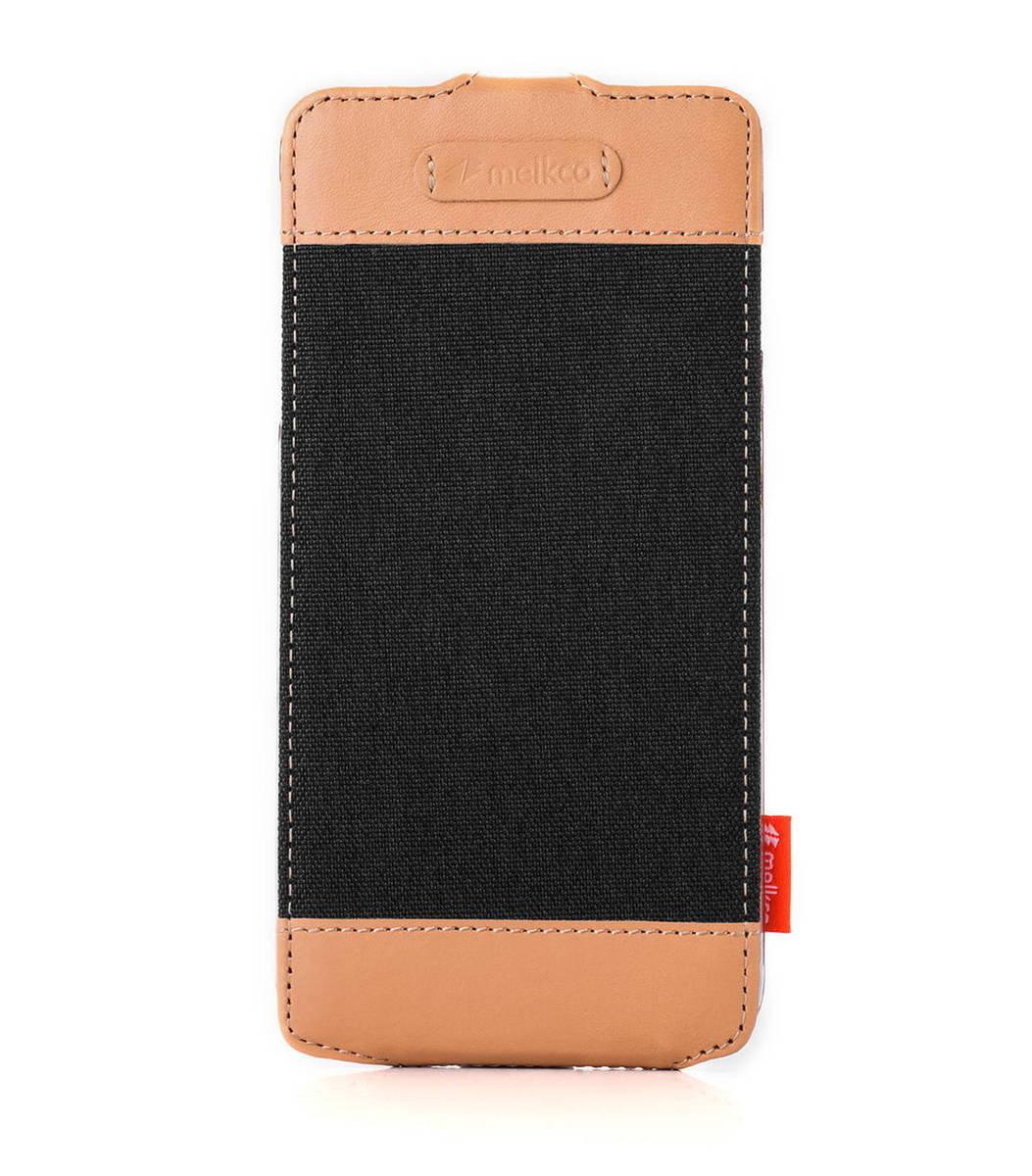 "Apple Iphone 6 Plus/6s Plus (5.5"") Jacka Type Cru系列高級時尚真皮手機套(黑色)"