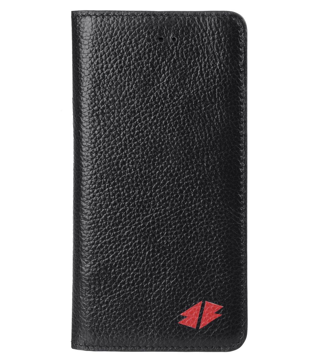 "Iphone 6/6s (4.7"") Herman系列 義大利牛皮手機套 (黑色荔枝條紋)"