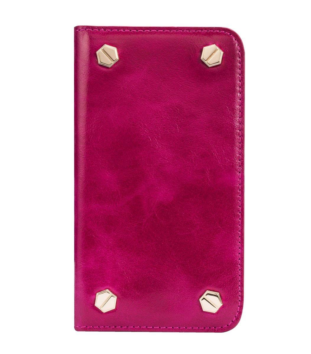"Apple Iphone 6/6s (4.7"") Hex-shine 系列高級牛皮時尚手機套 (奧利佛紫色)"