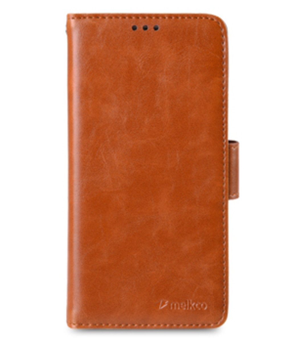 Samsung Galaxy S6 Wallet Book Type 人造皮手機套 (褐色)