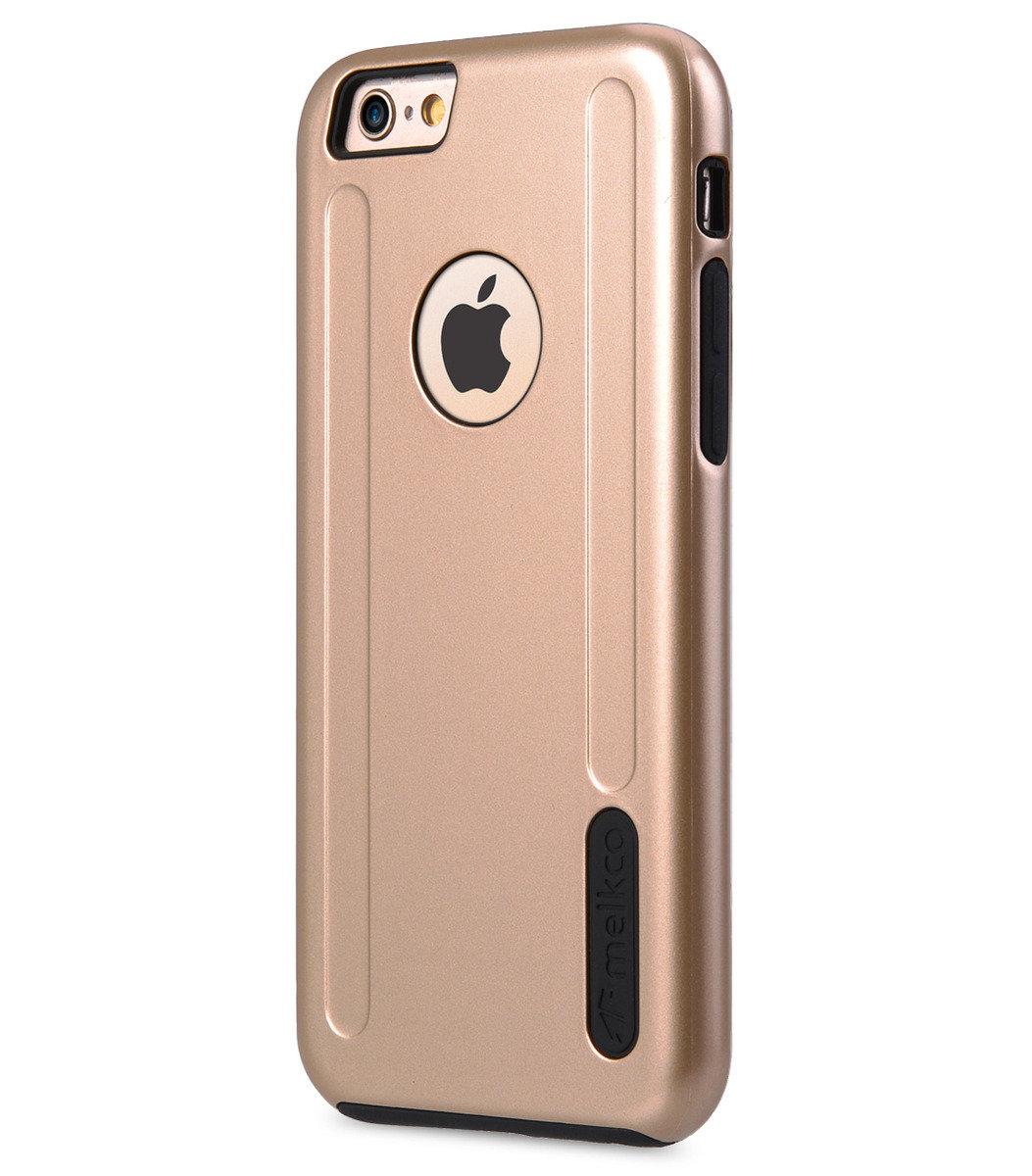 "Apple iPhone 6s (4.7"") Special Edition Metallic Kubalt 雙層保護殼(可見蘋果標誌)- 金色/黑色"