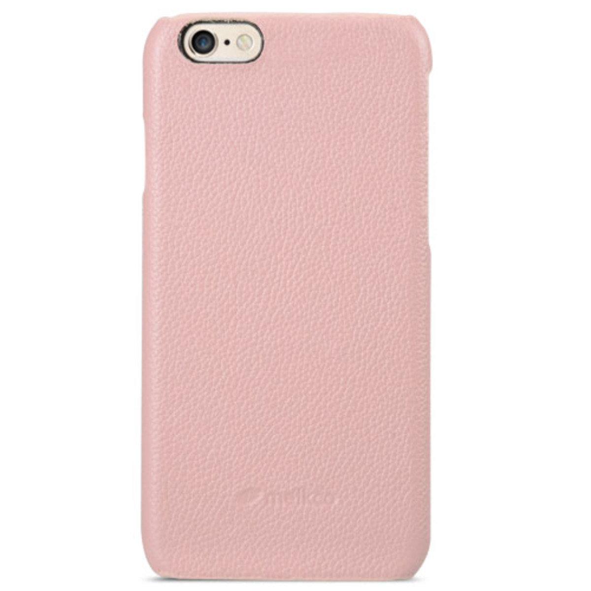 Apple iPhone 6  (4.7 inch) Snap Cover 高級真皮革手機套 - 粉紅色