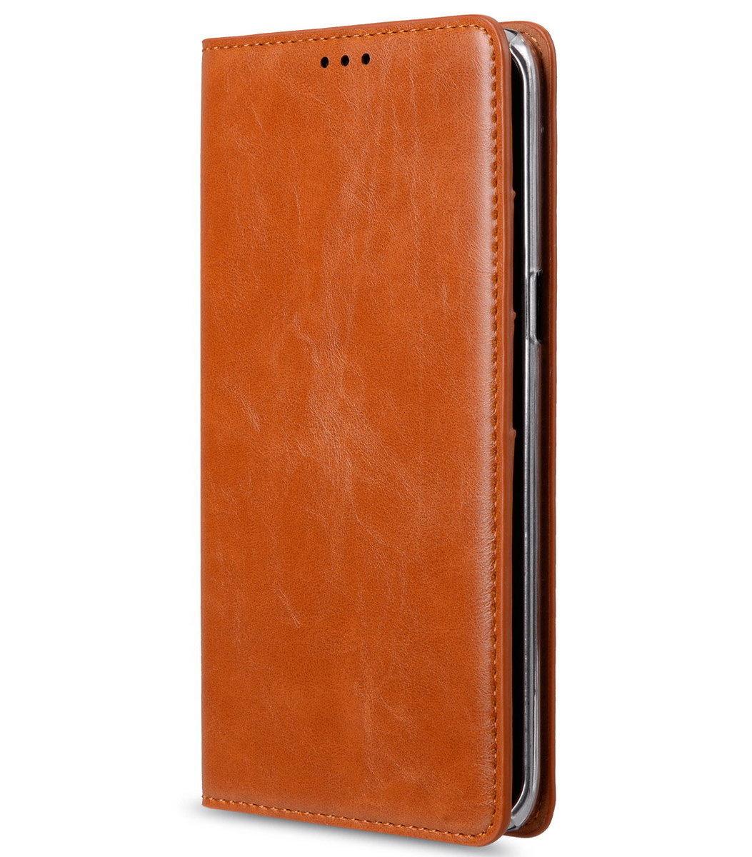Samsung Galaxy S6 Edge Plus Herman 系列人造皮手機套 - 瘋馬啡色