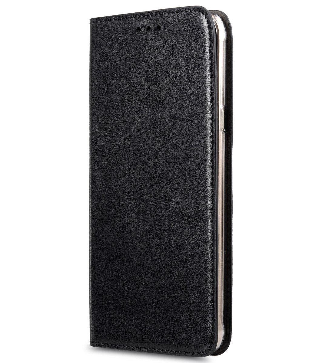 Samsung Galaxy A8 Herman 系列人造皮手機套 - 黑色