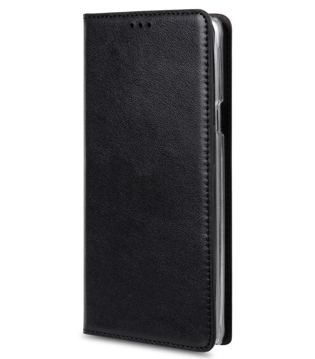 Samsung Galaxy Note 5 Herman 系列人造皮手機套 - 黑色