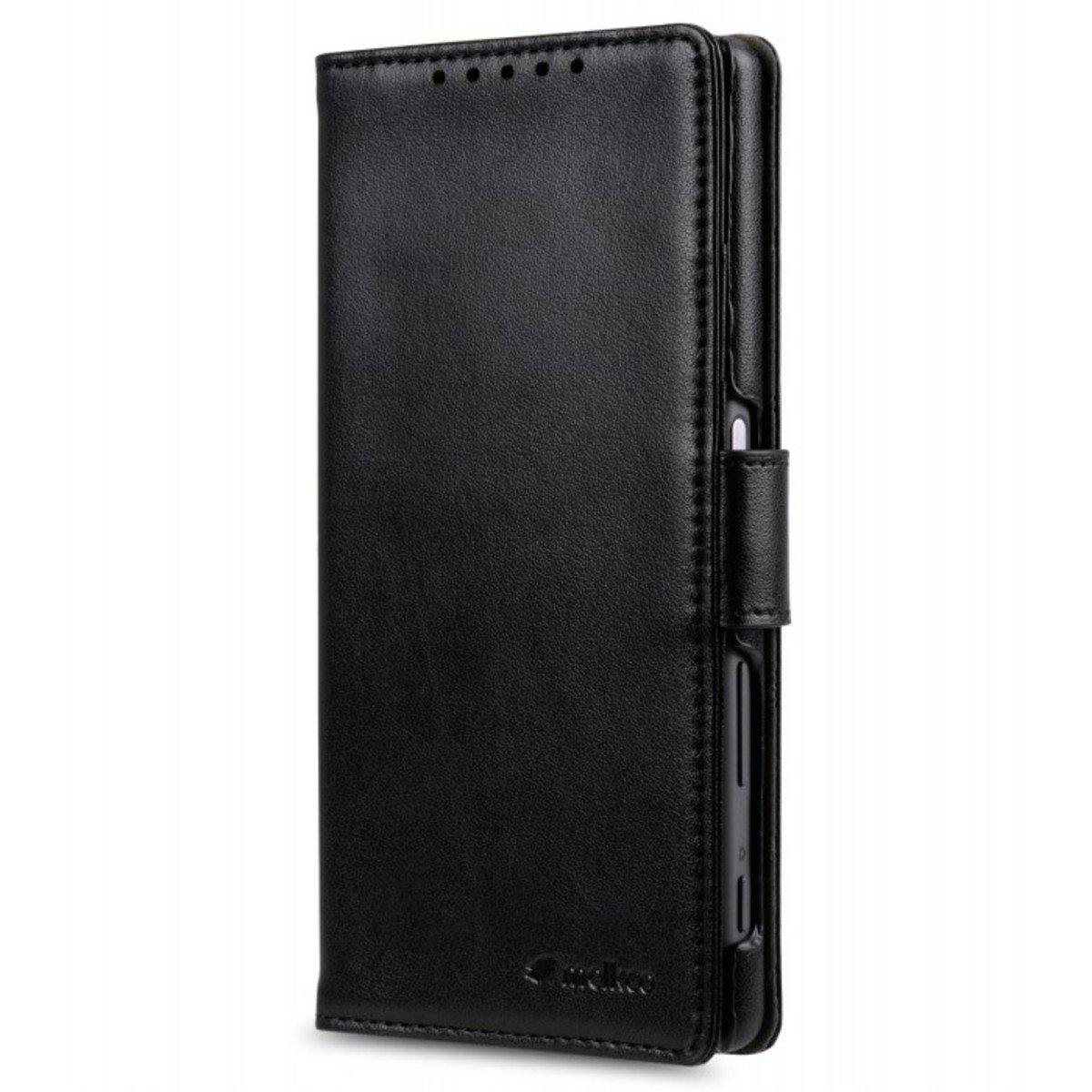Sony Xperia Z5 Wallet Book Type 人造皮手機套 - 黑色