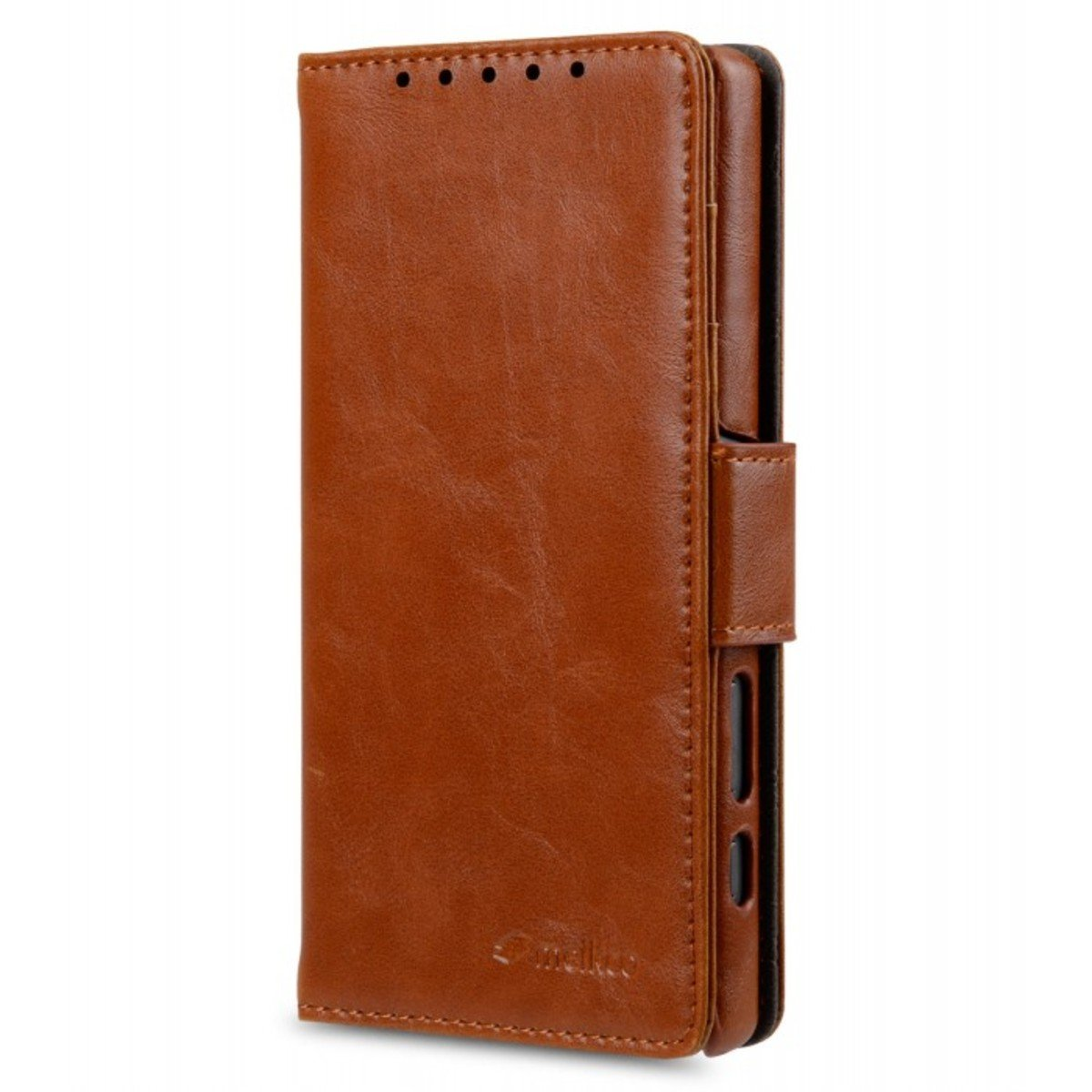 Sony Xperia Z5 Compact Wallet Book Type 人造皮手機套 - 黑色