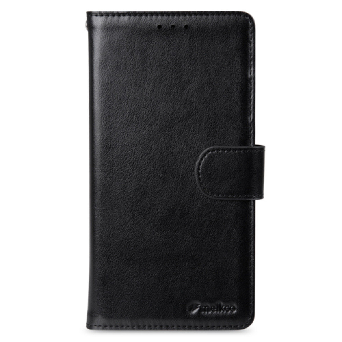 Samsung Galaxy S6 Edge Plus Wallet Book Type 人造皮手機套 - 黑色