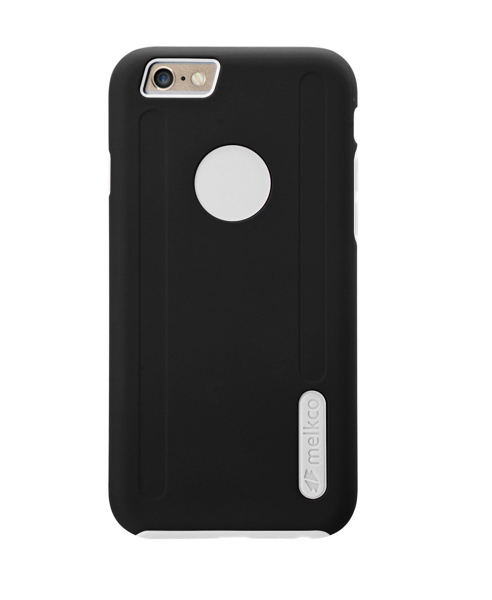 Kubalt Double Layer Pro Cases for Apple iPhone 6/6S (4.7Inch) (Black/White)