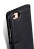 Apple iPhone 6s/6Wallet Book Type高級真皮手機套-瘋馬黑色