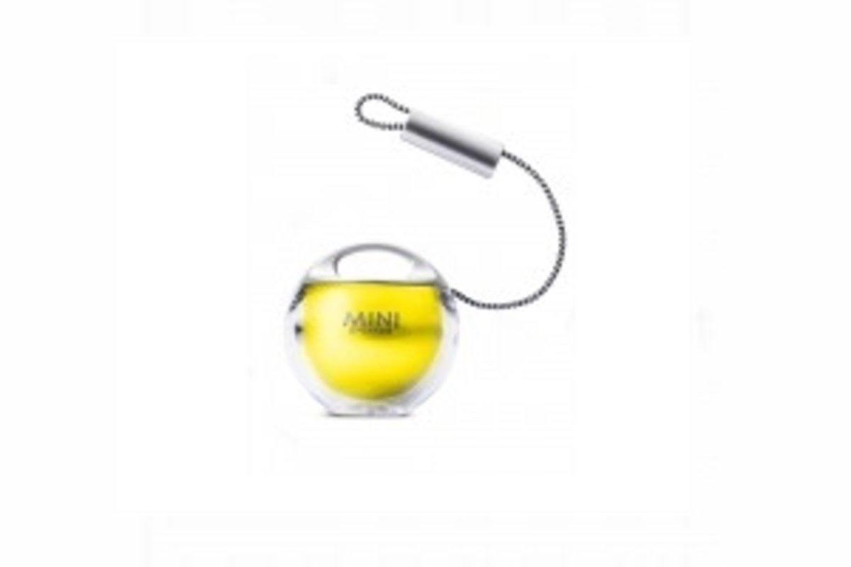 球狀小喇叭-銀/黃色