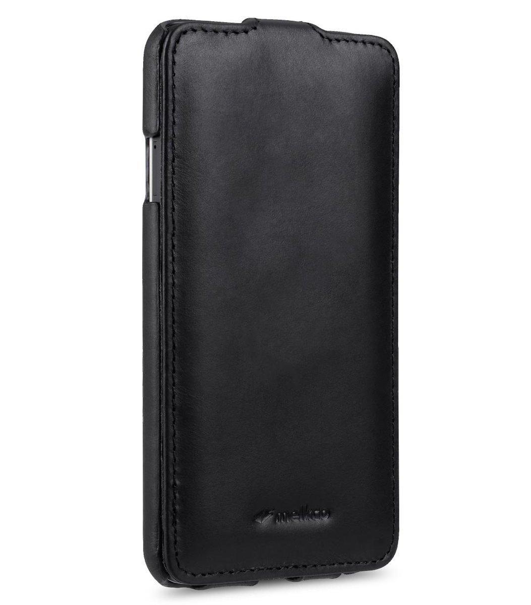 Huawei Nexus 6P Jacka Type高級真皮手機套-瘋馬黑色