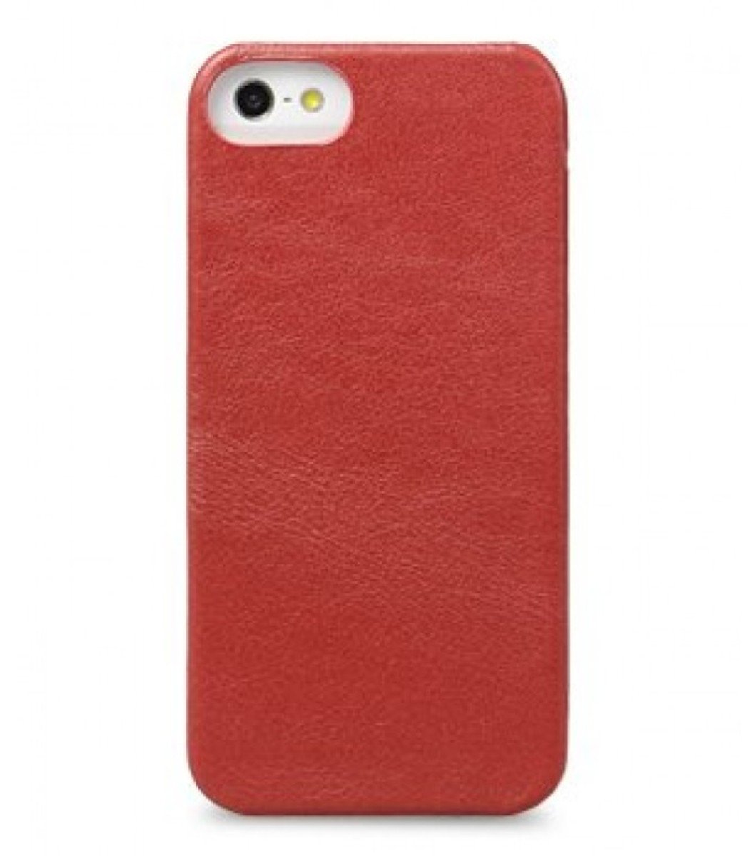 Melkco 高級皮革手機套 Apple iphone 5-紅色