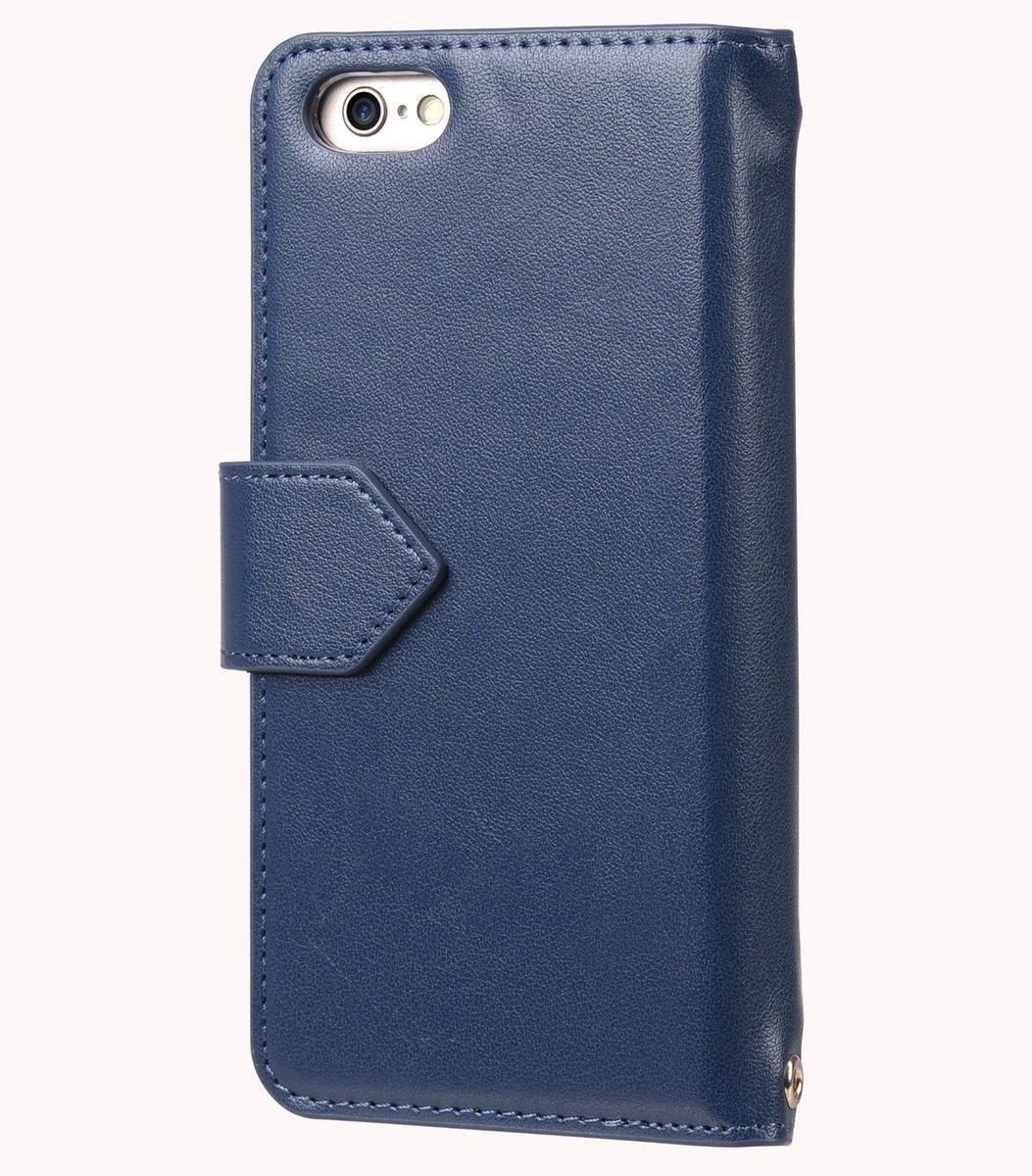 Kuboq日本袖珍套為iPhone6S-深藍色