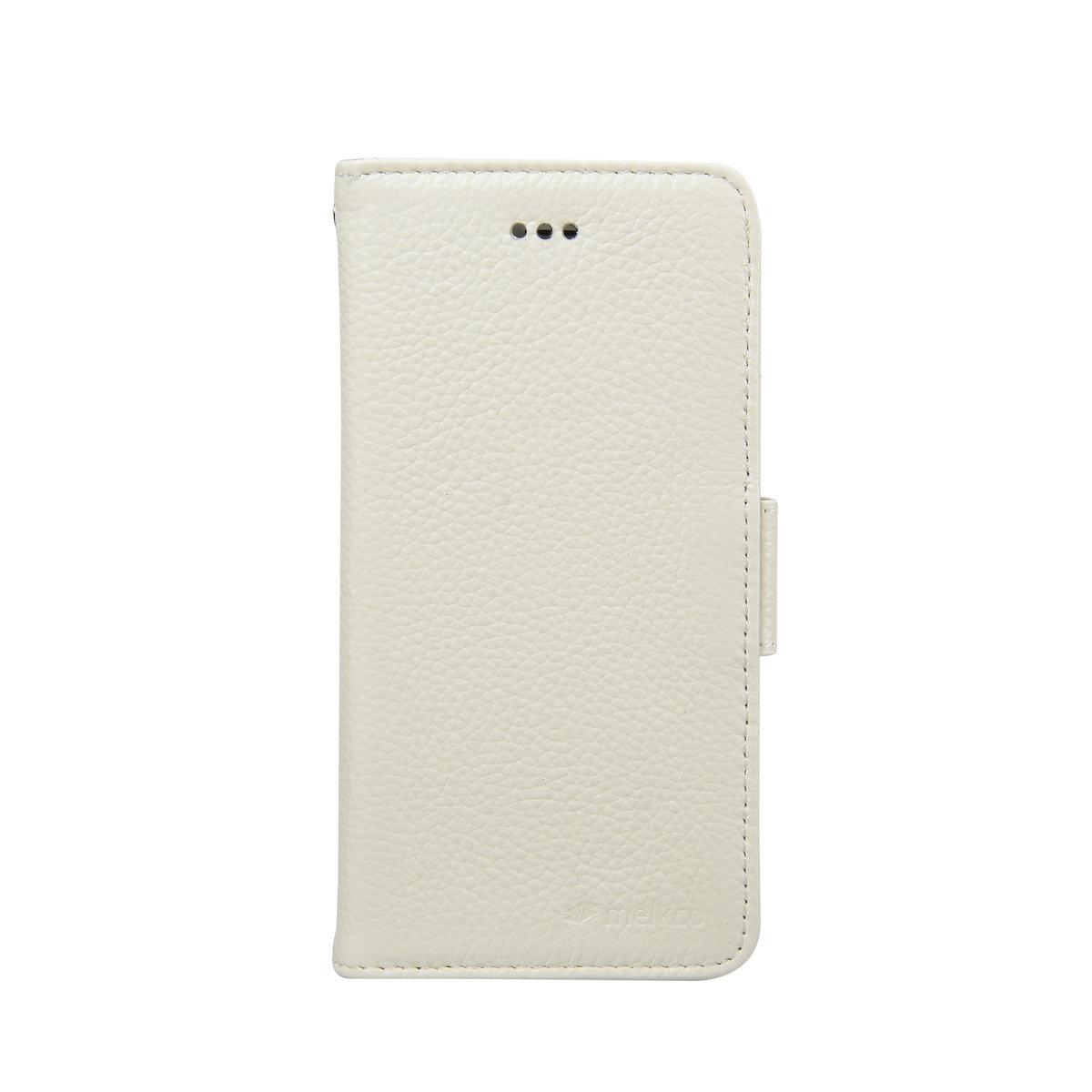 "iPhone 6/6S (4.7"") Wallet Book Type高級真皮手機套 - 白色荔枝紋"