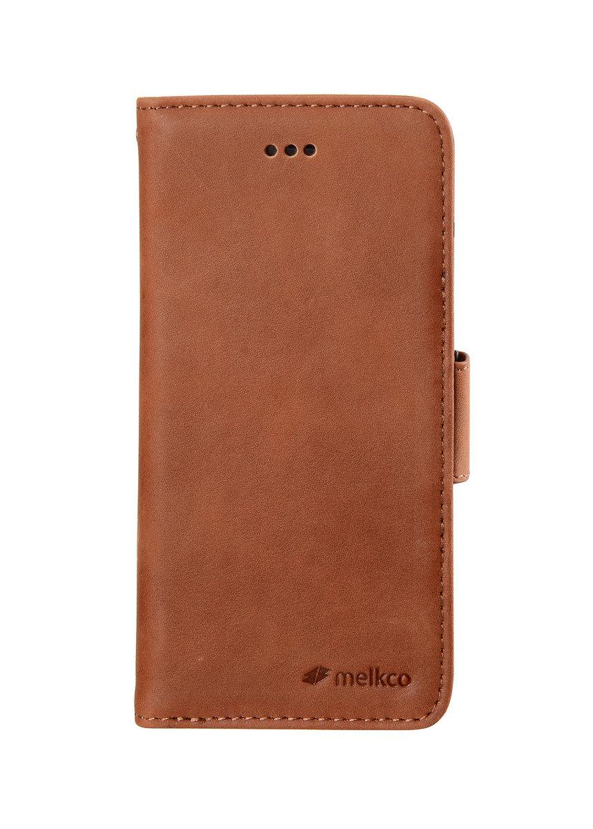 "iPhone 6/6S (4.7"") Wallet Book Type高級真皮手機套 - 磨沙啡色"