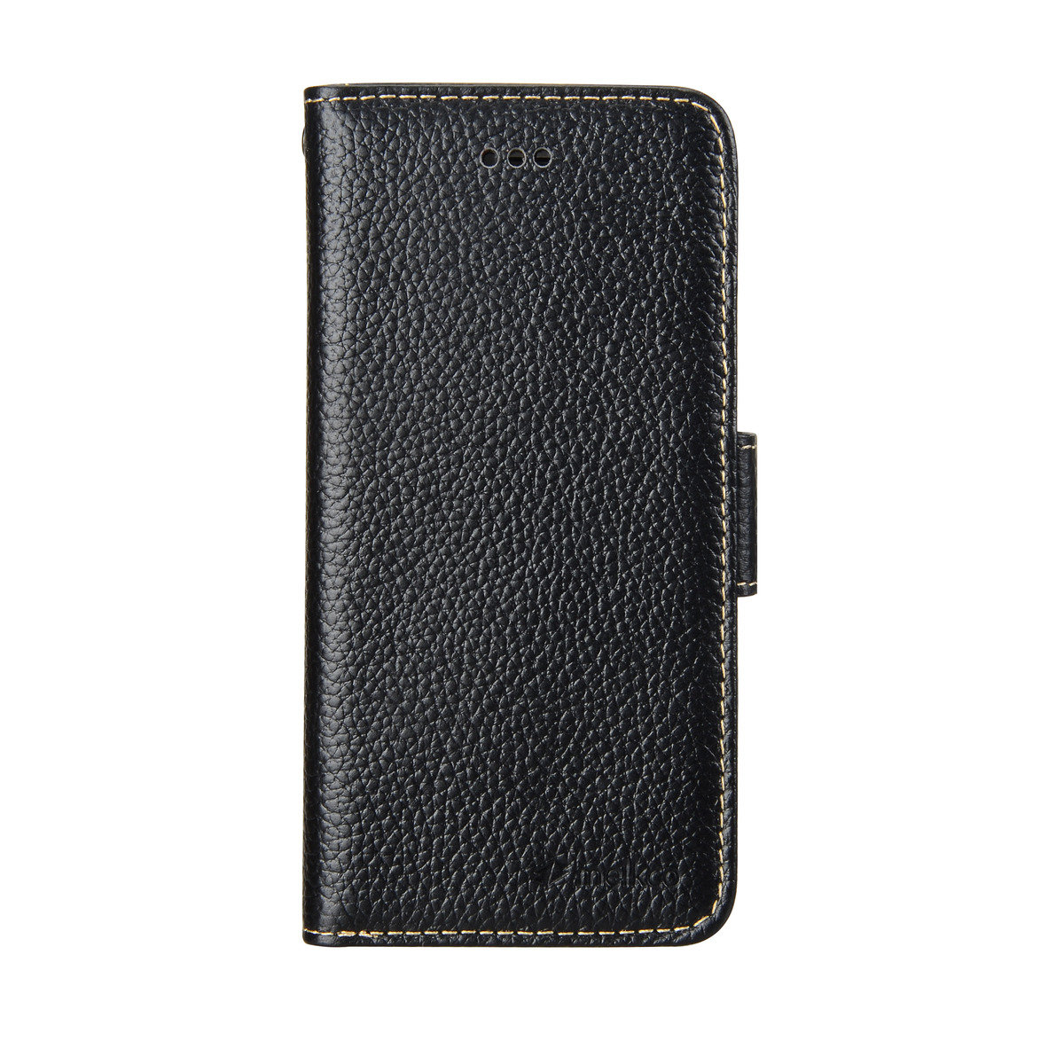 """iPhone 6/6S (4.7"""") Wallet Book Type高級真皮手機套 - 黑色荔枝紋"""