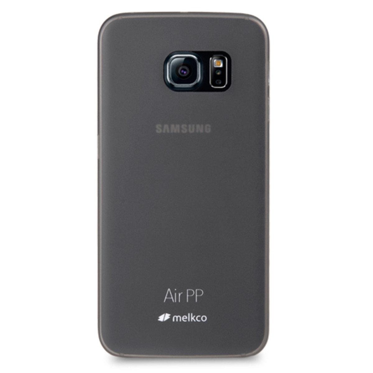 Galaxy S6 Edge Air PP 超薄防刮殼 - 黑色(附送屏幕保護貼)