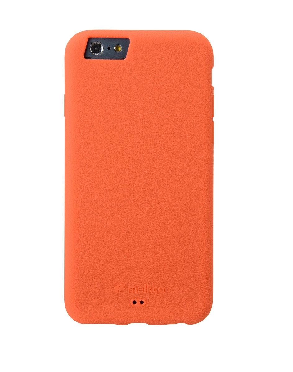 "iPhone 6 Plus/6S Plus (5.5"") Silikonovy 手機保護殼 - 橙色(附送手掛帶/屏幕保護貼)"