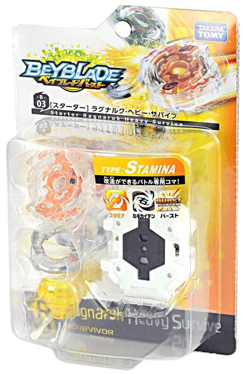 Beyblade Burst B-03 Starter Ragunaruku Heavy Survive