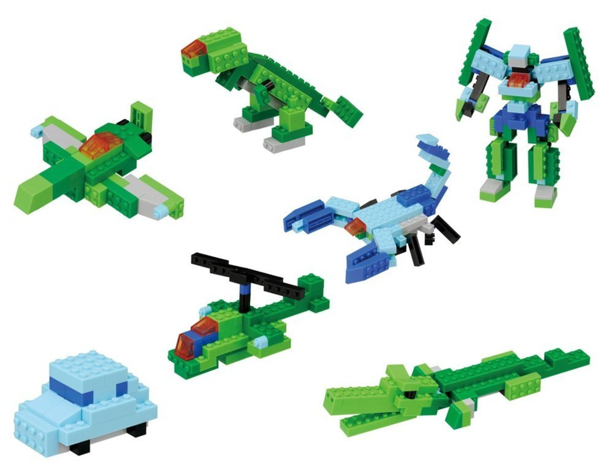 nanoblock PBS-002 BASIC SET -COOL-