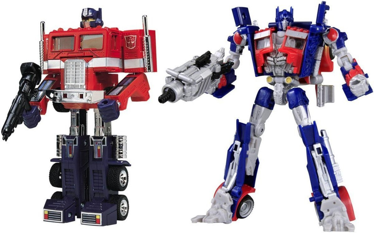 Transformers Chronicle CH01 G1 & Movie Commander Set Convoy Optimus