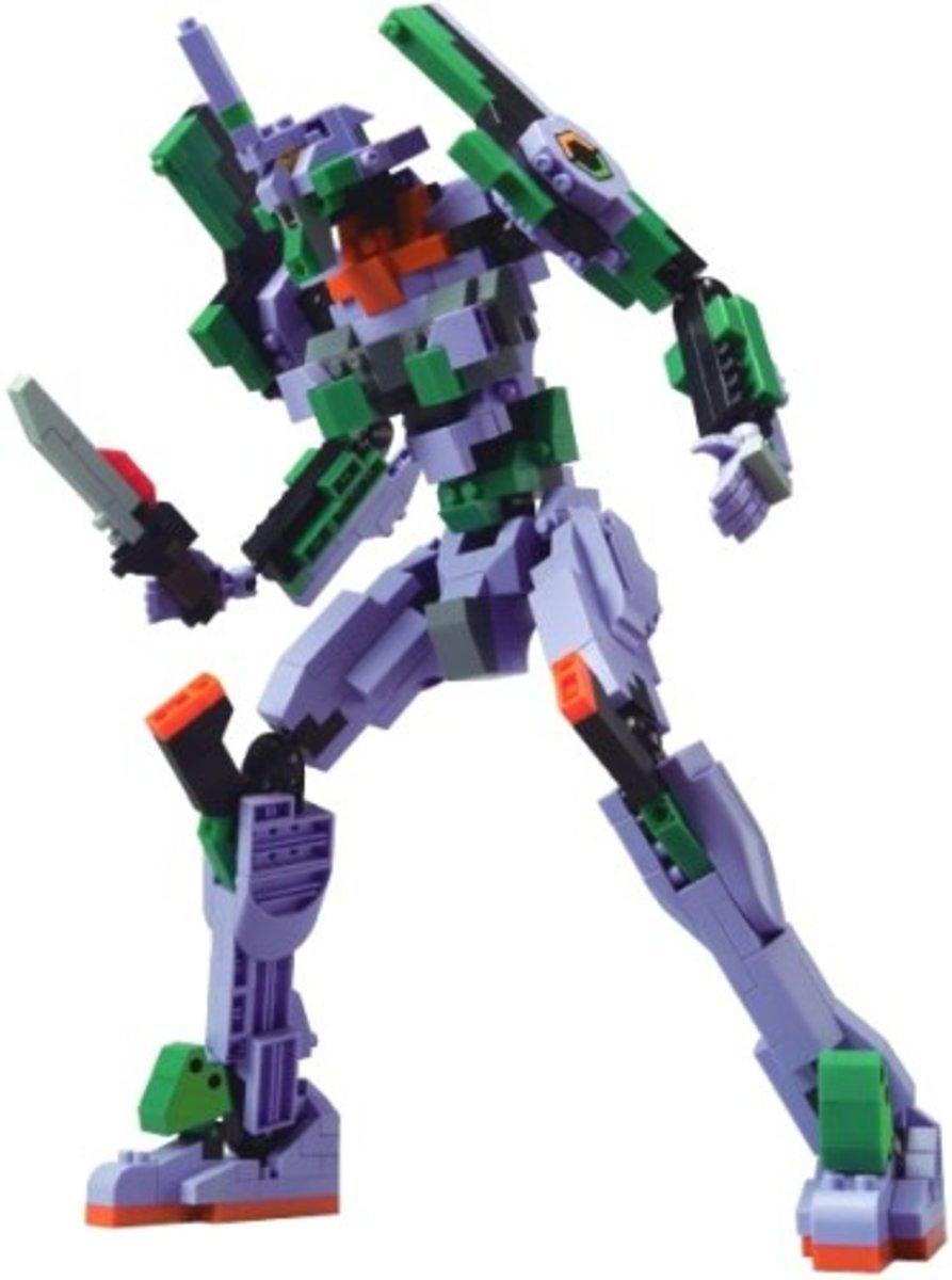 Neon Genesis Evangelion Unit EVA-01 Lego Daiya Block