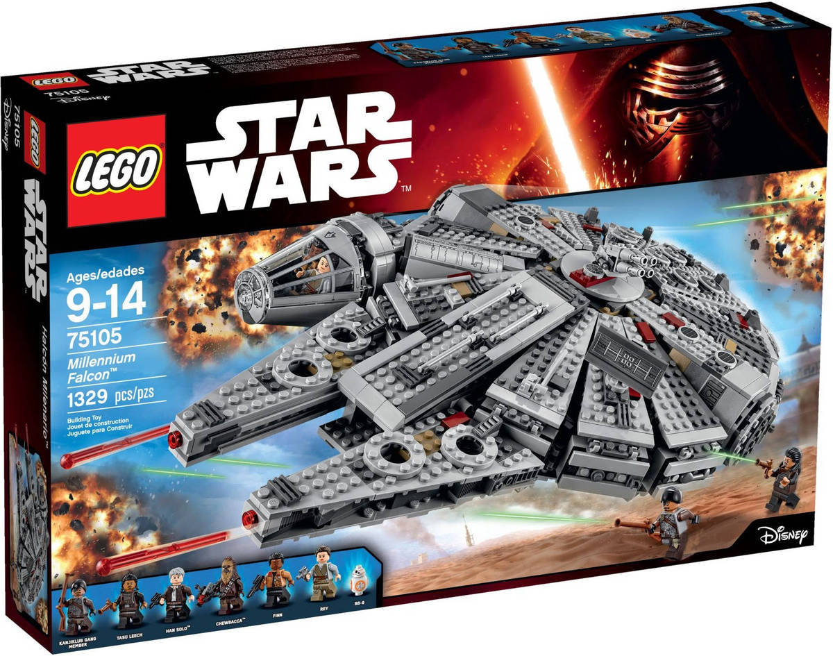 75105 - STAR WARS - MILLENNIUM FALCON