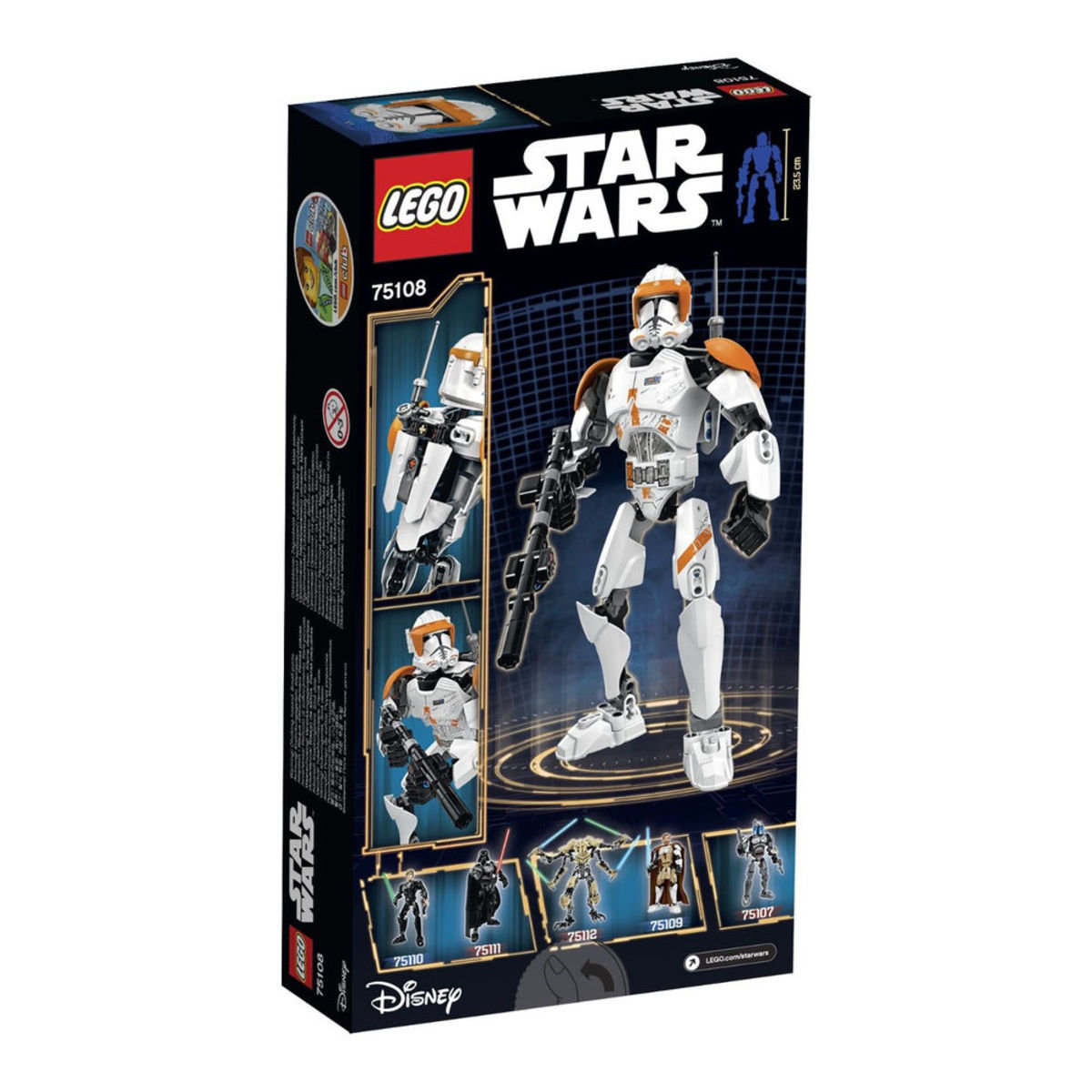 75108 Constraction Star Wars Clone Commander Cody™