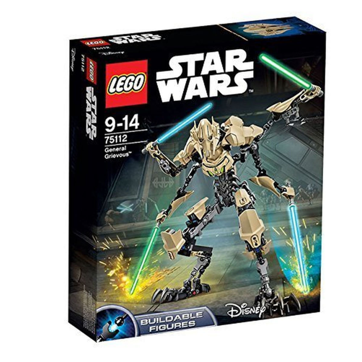 75112 Constraction Star Wars General Grievous™