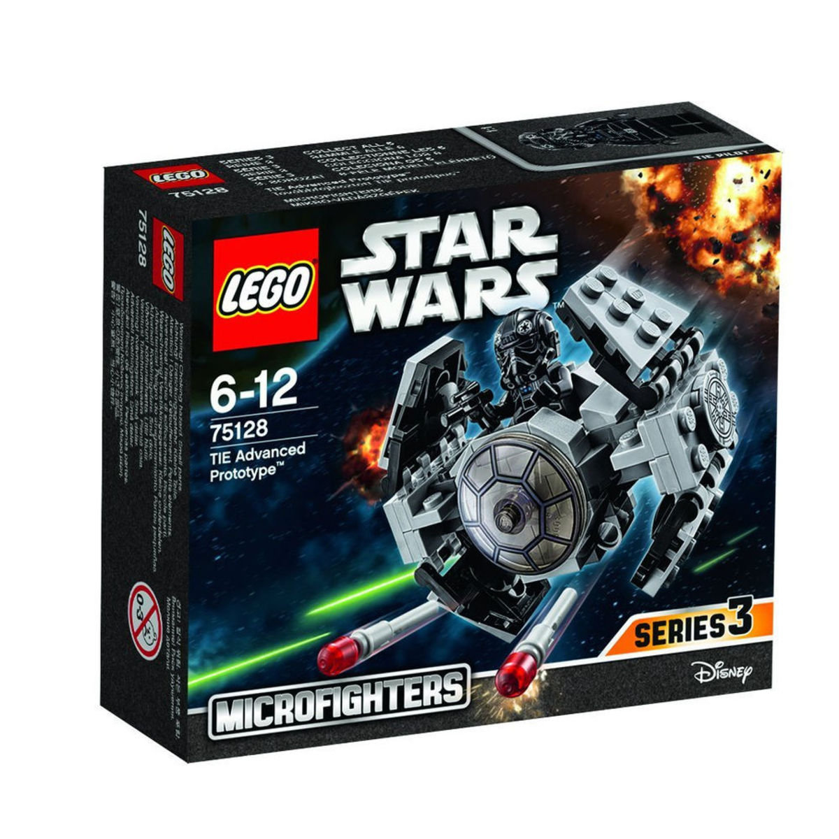 75128 Star Wars™ TIE Advanced Prototype™