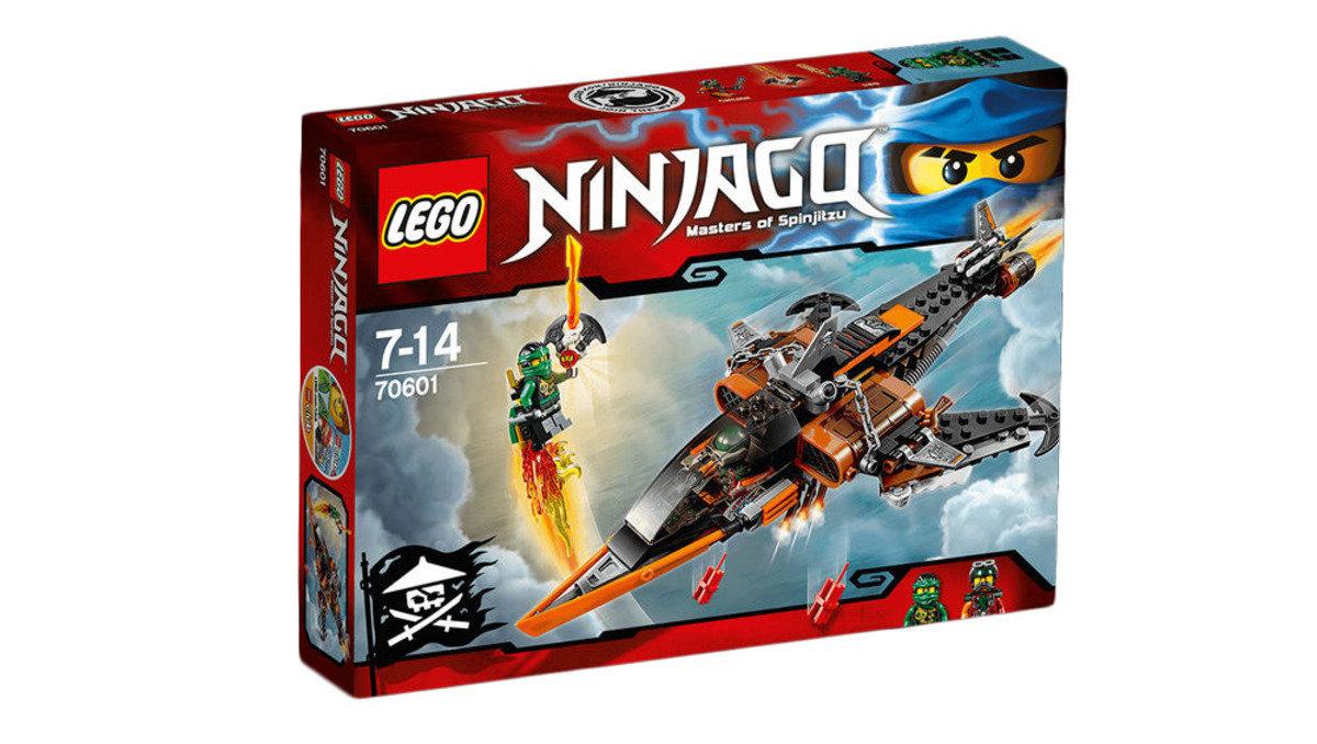 70601 Ninjago 飛天鯊