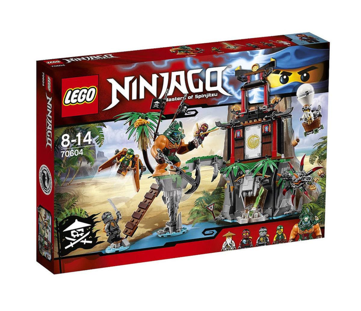 70604 Ninjago 虎寡島