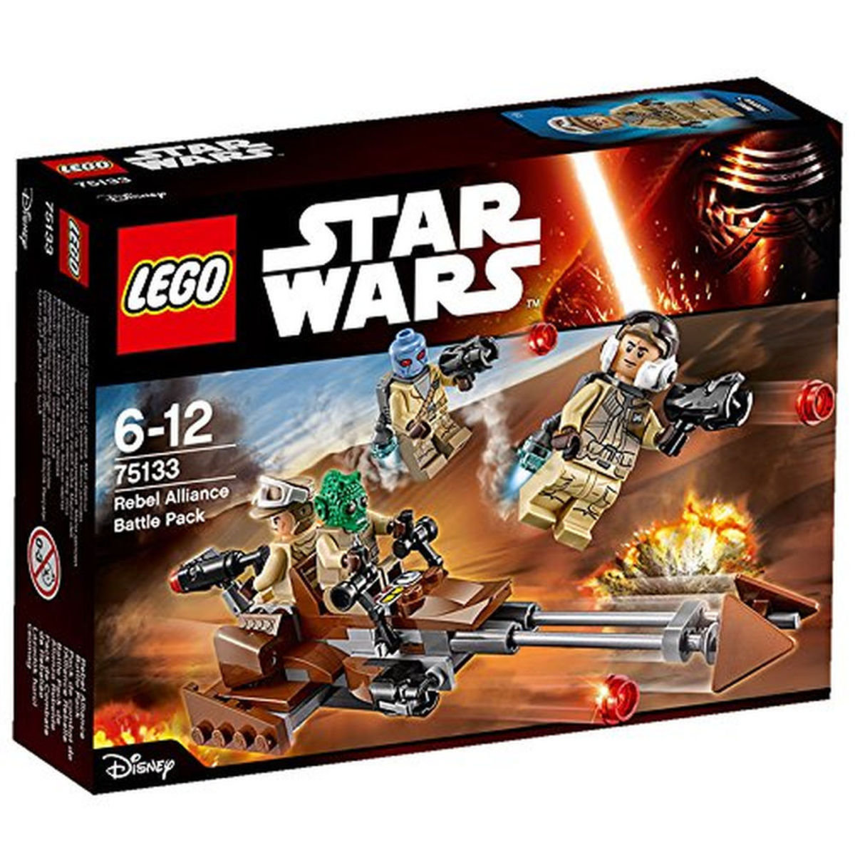 75133 Star Wars™ Rebel Alliance Battle Pack