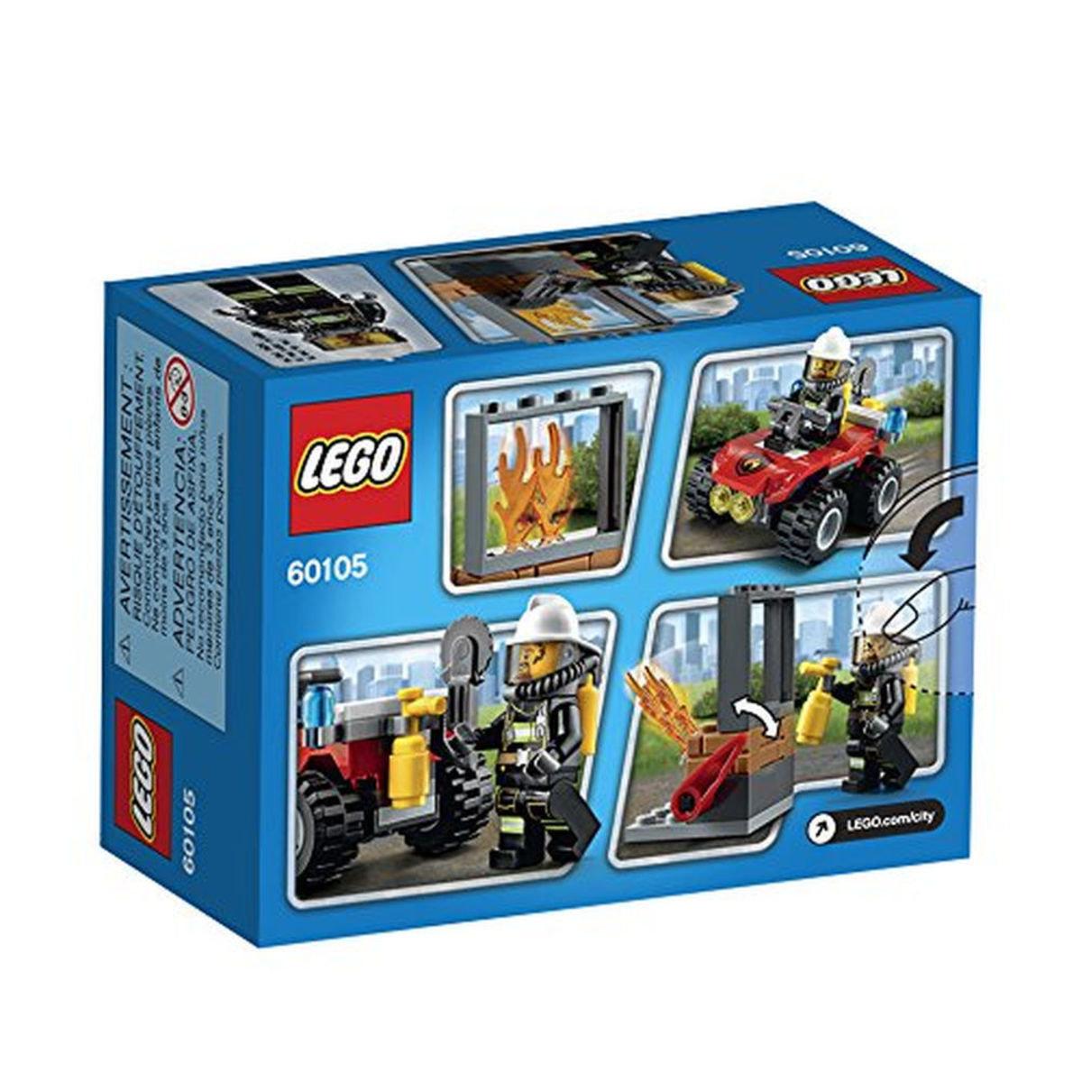 60105 City Fire 全地形消防車