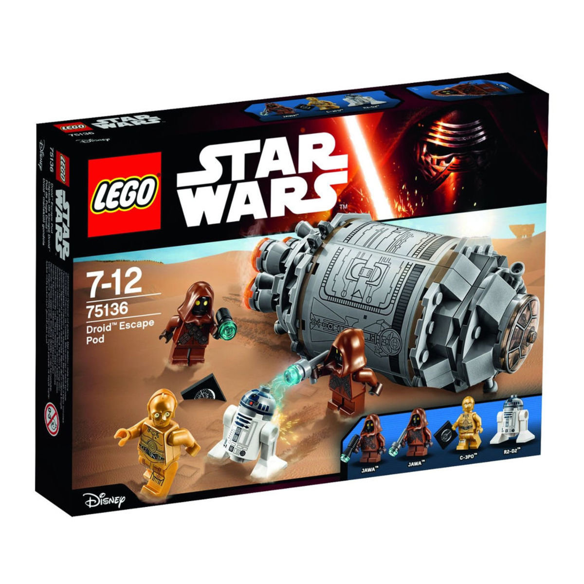 75136 Star Wars™ Droid™ Escape Pod