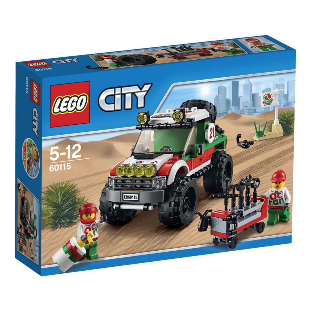 60115 City Great Vehicles 4 x 4 越野車