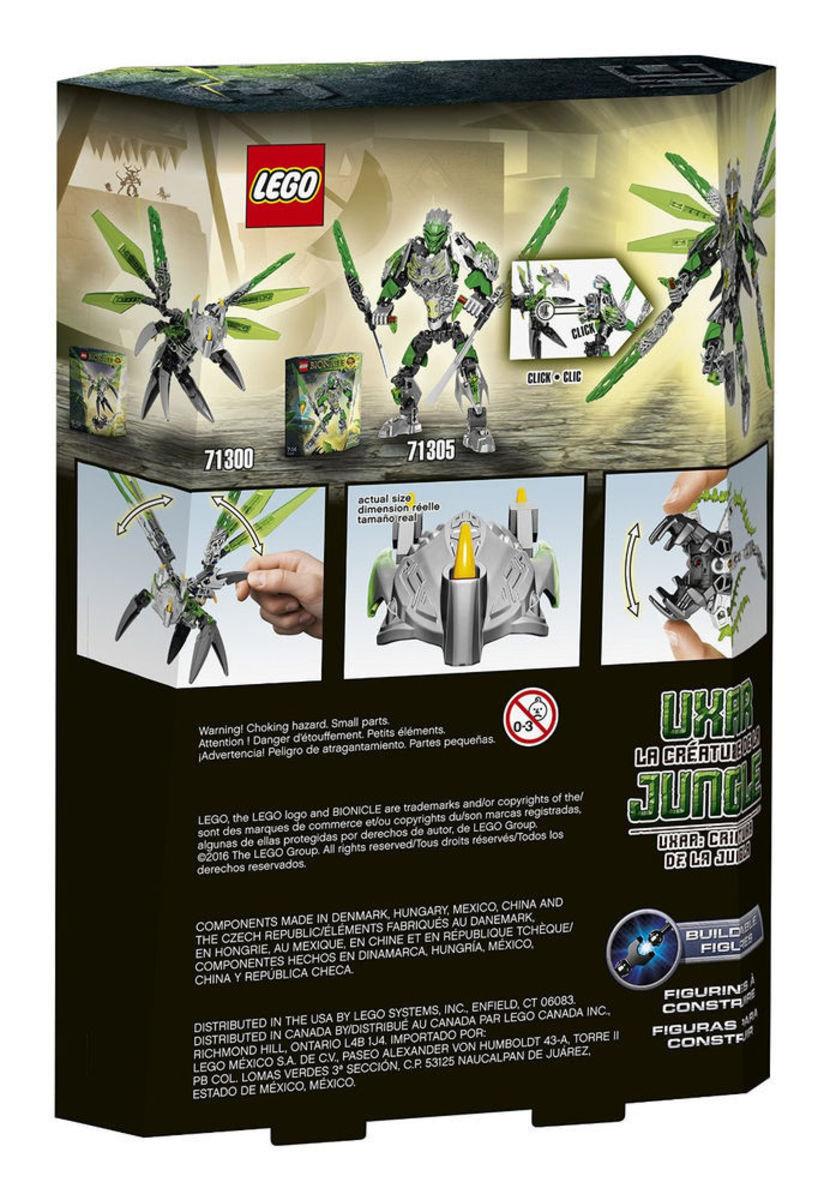 71300 Bionicle 林之生物-奧拿Uxar