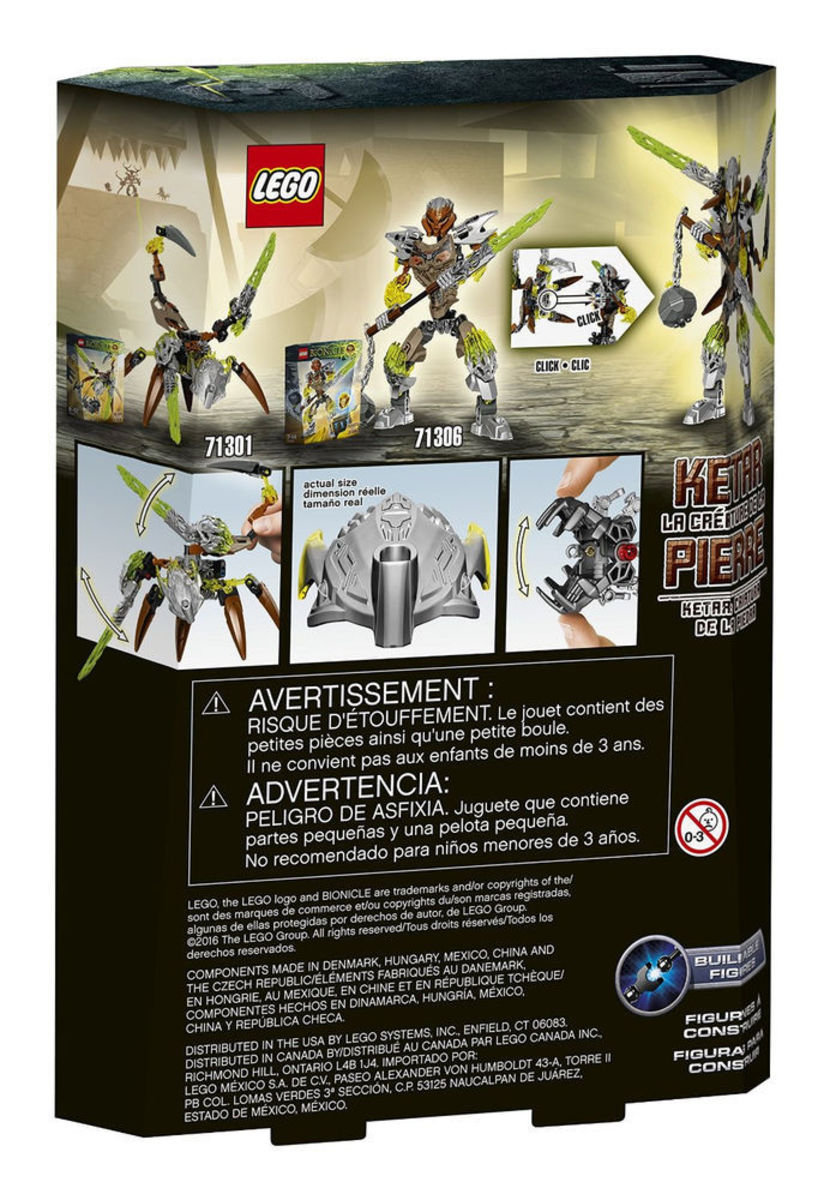 71301 Bionicle 石之生物-卡達Ketar