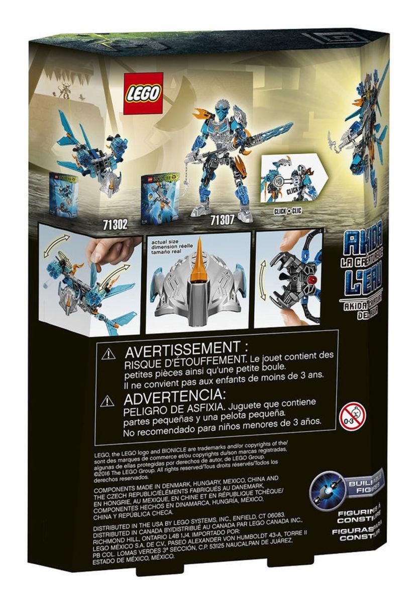 71302 Bionicle 水之生物-艾奇達Akida