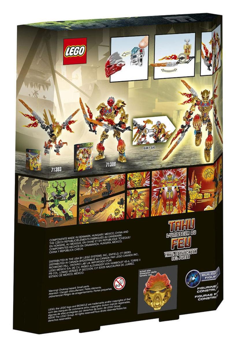 71308 Bionicle 火之聯合者-逹胡Tahu