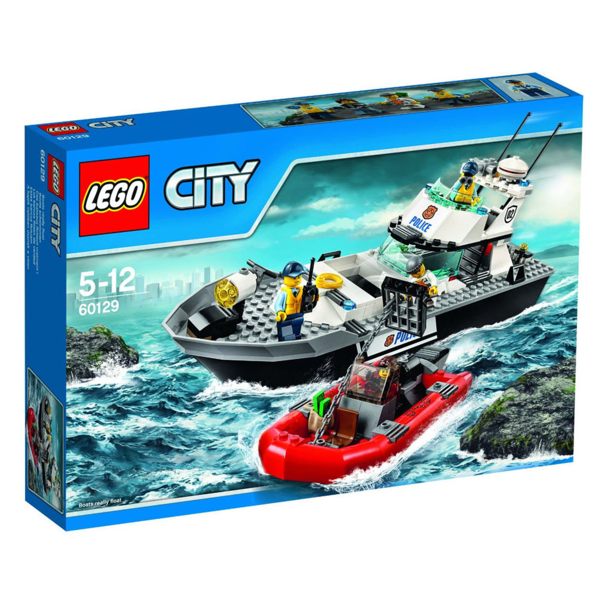 60129 City Police 警察巡邏艇
