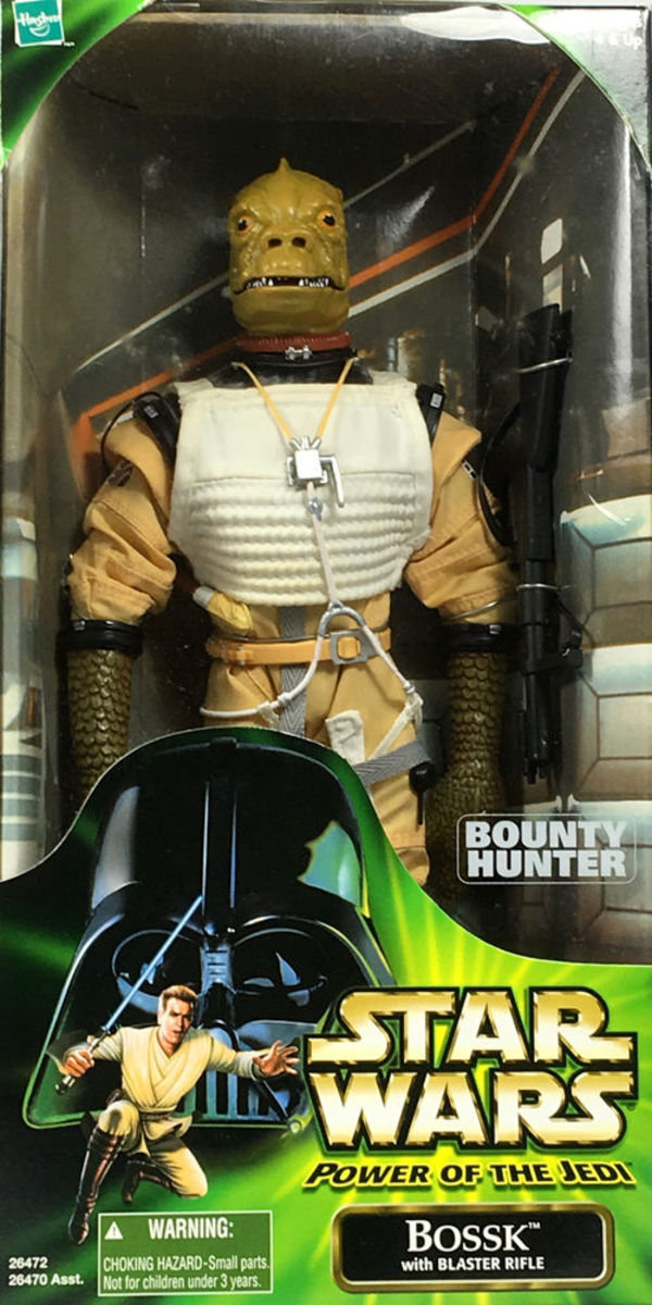 Star Wars Power of the Jedi Action Collection BOUNTY HUNTER BOSSK 12in Action Figure