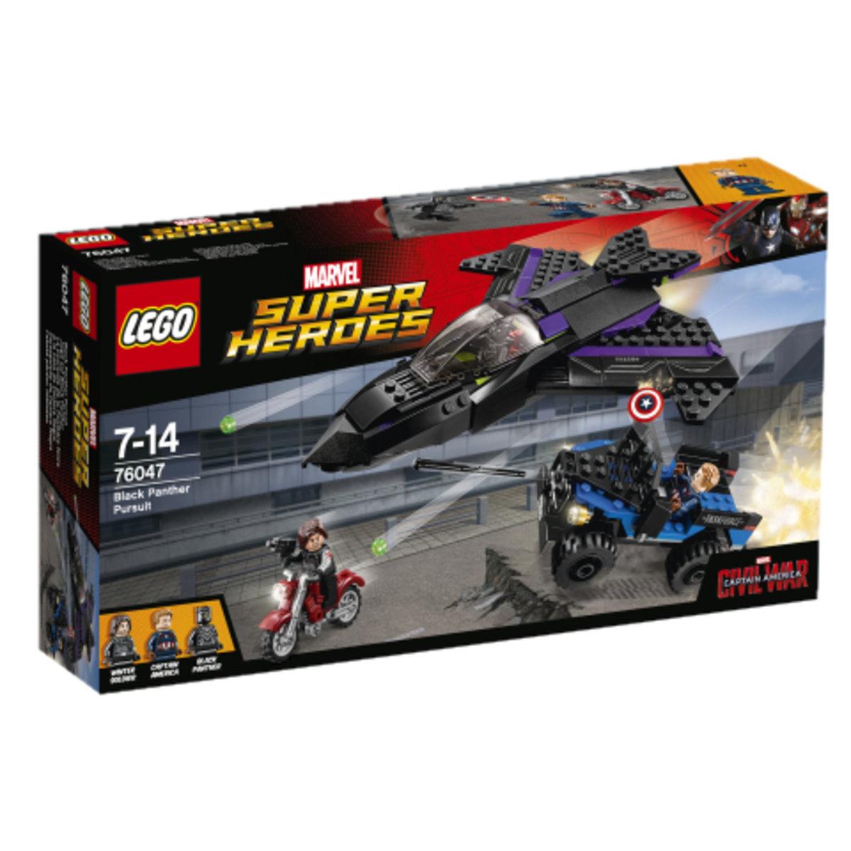76047 Black Panther Pursuit 5702015597609