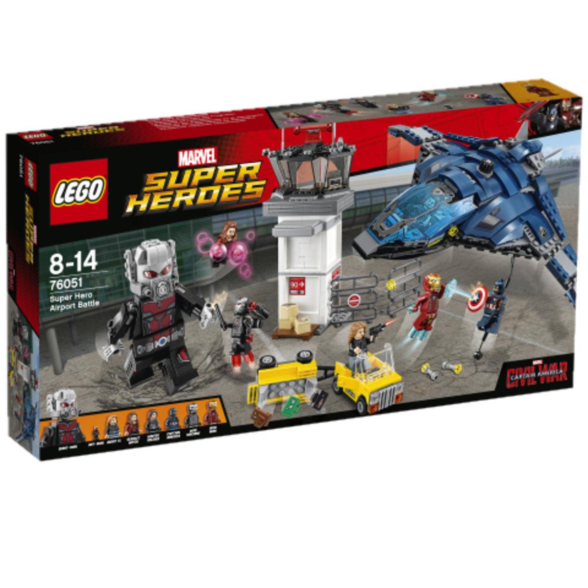 76051 Super Hero Airport Battle 5702015597647