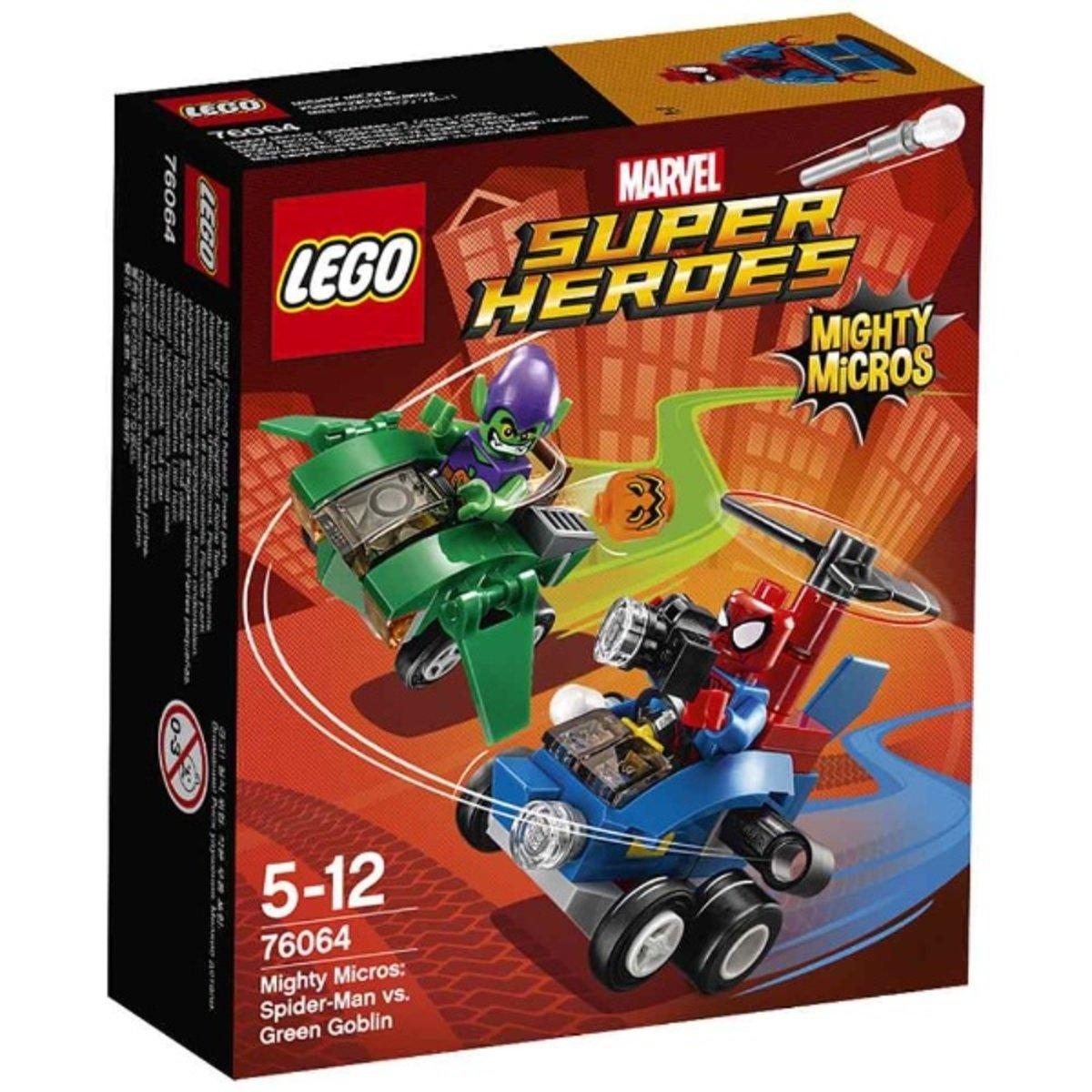 76064 威力車戰:蜘蛛俠對戰綠惡魔 5702015597777