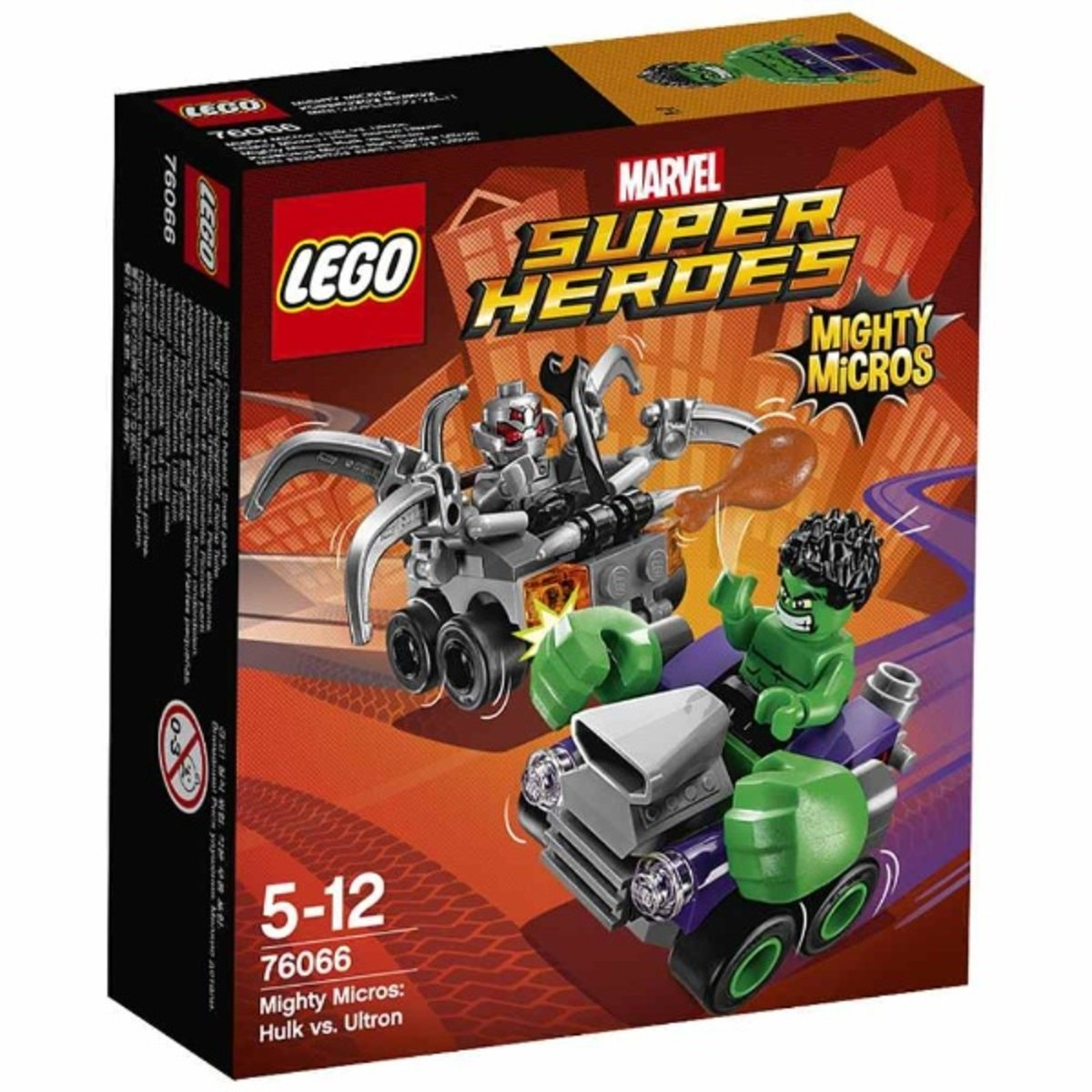 76066 威力車戰:綠巨人對戰奧創 5702015597791