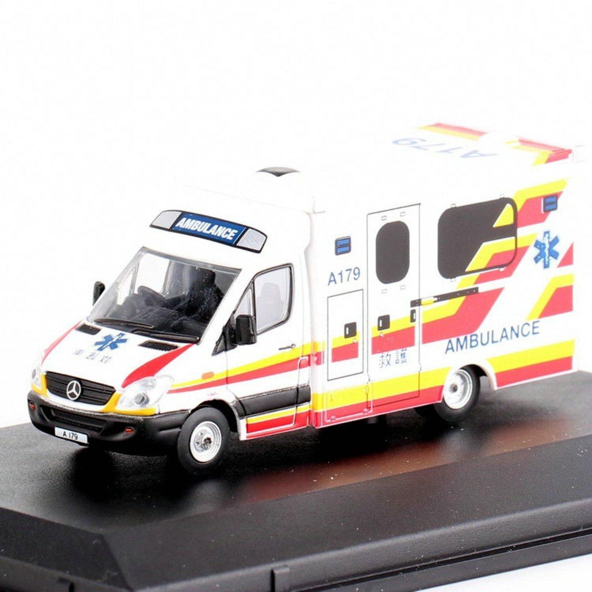 76MA005 1/76 賓士香港救護車